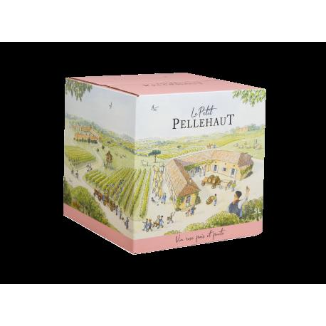 Le Petit Pellehaut rosé et fruité